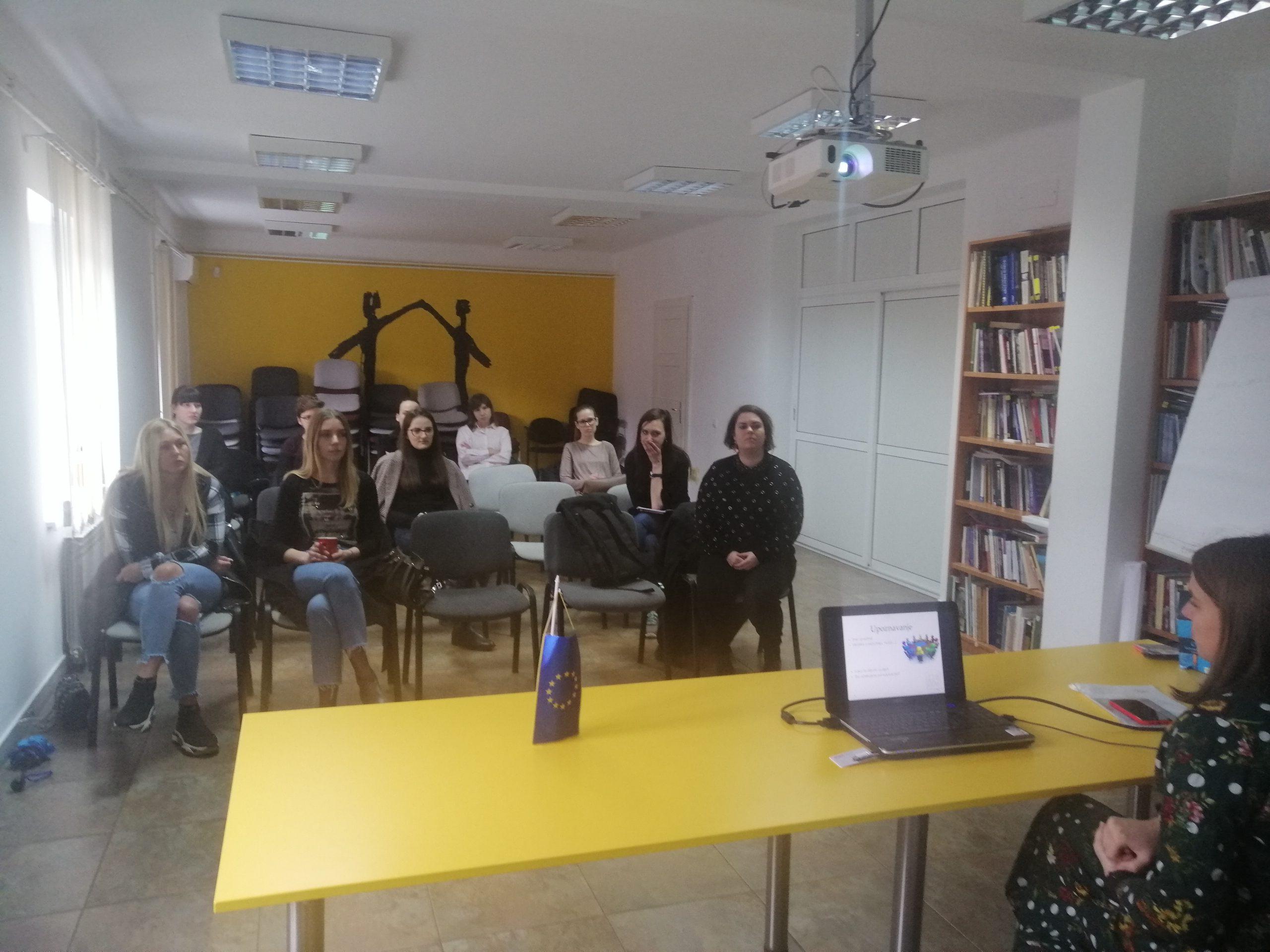 Održana edukacija za volontere/ke